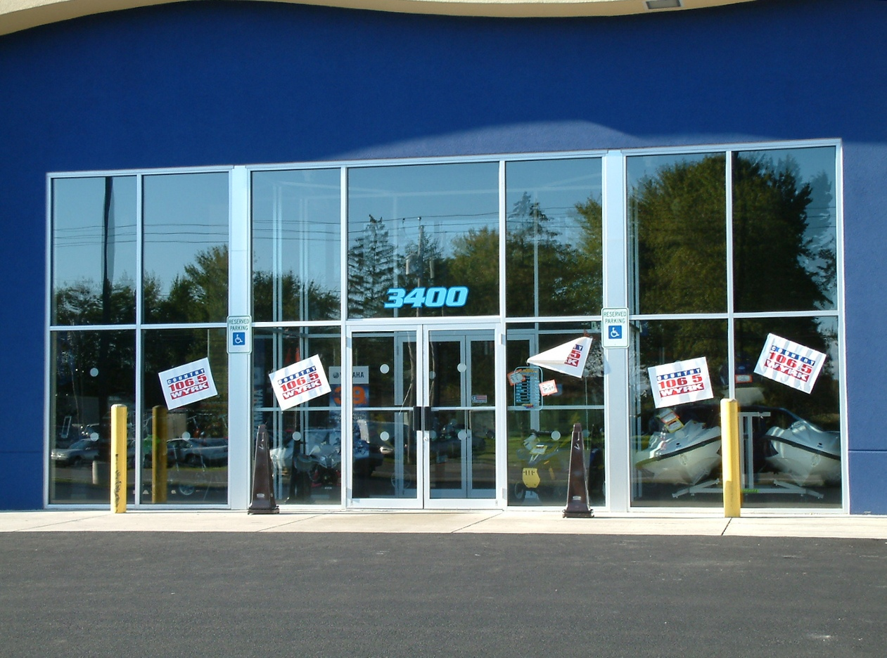 commercial Glass Storefront Doors rochester ny