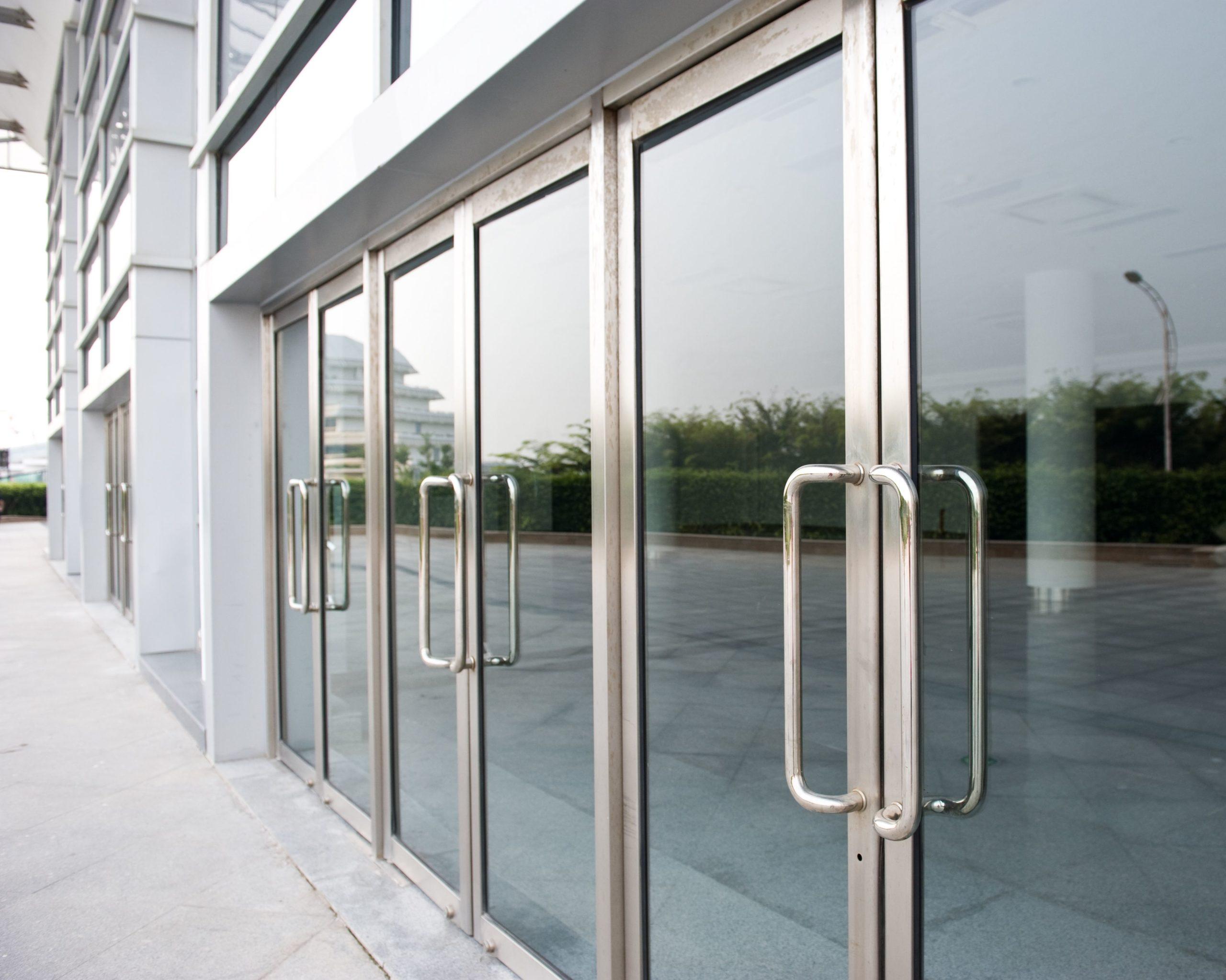 commercial glass door repair rochester ny