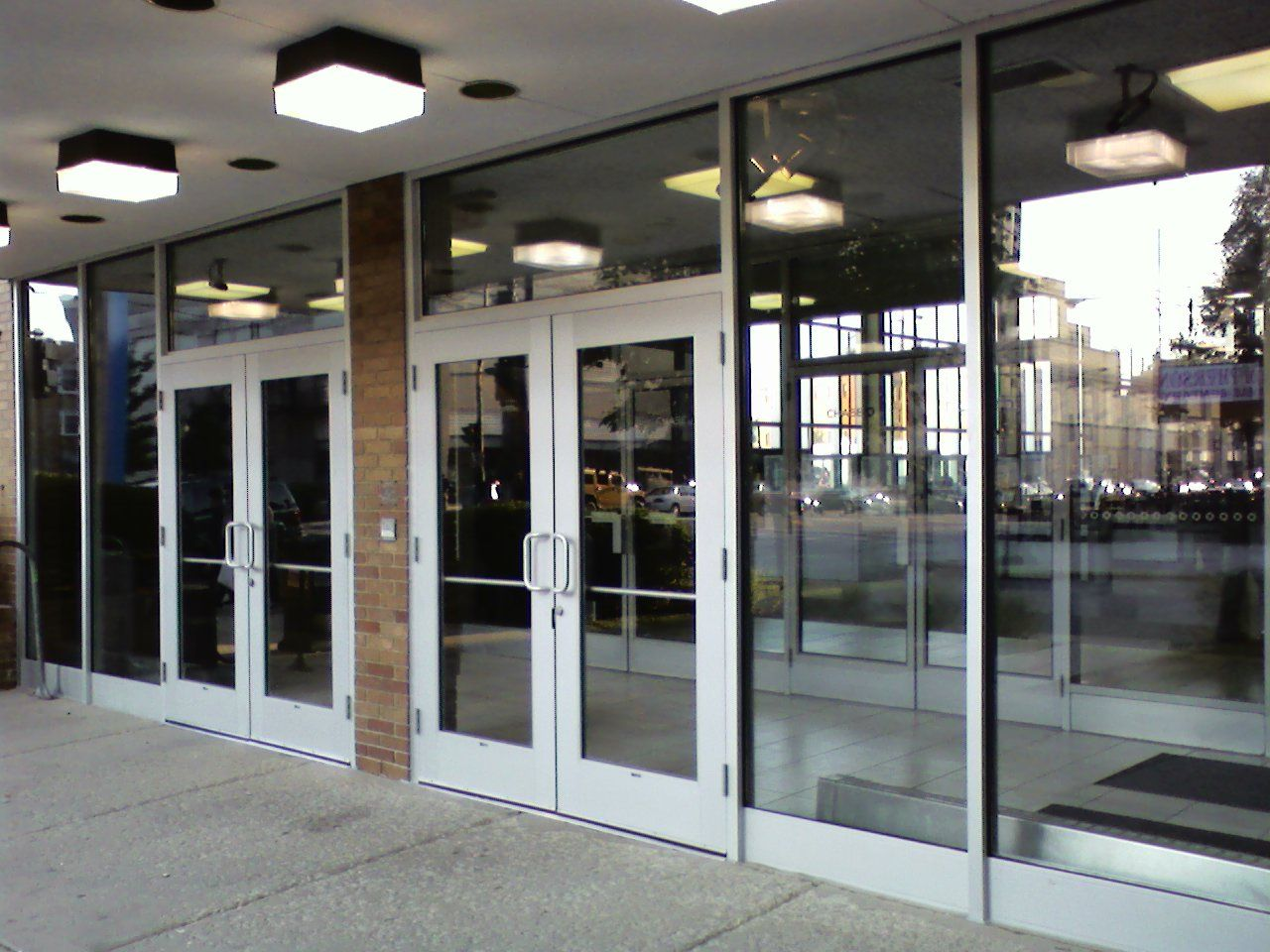commercial Glass Storefront Doors
