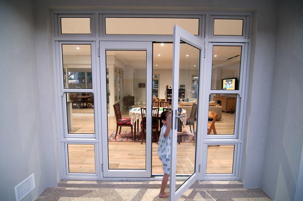 aluminum hinged door repair rochester ny