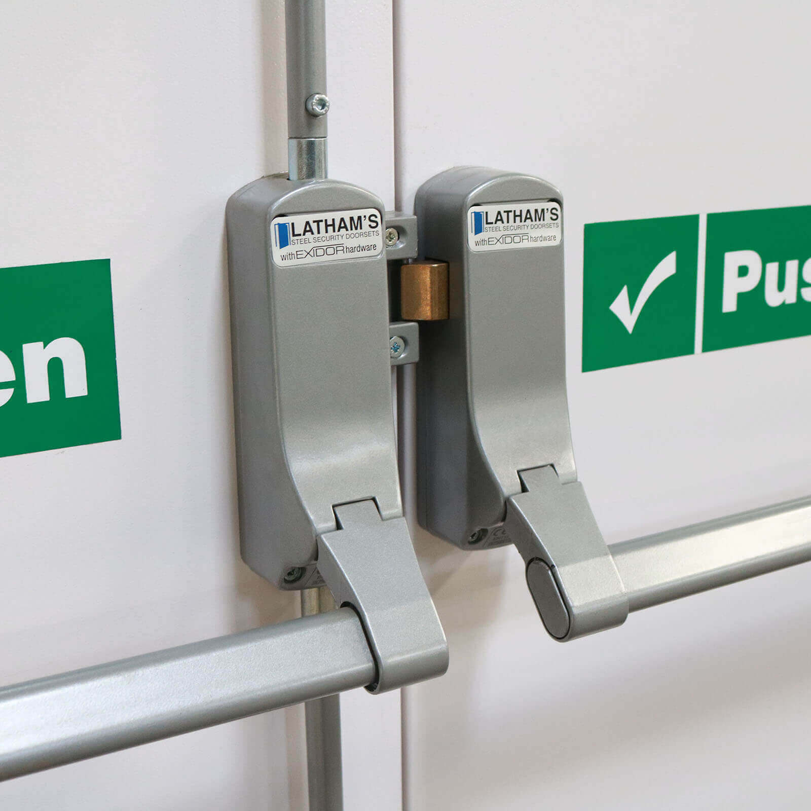 Latham's Briton Panic Bars and Fire Exit Devices rochester